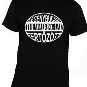 legénybúcsú póló walking dead fekete