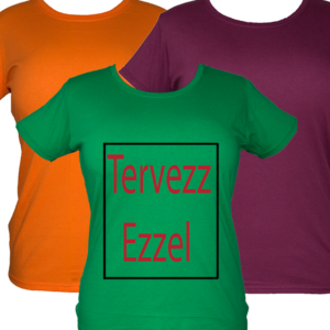 női póló tervezés