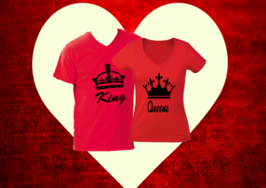 Páros póló - King and Queen