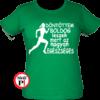 futópóló döntöttem futok női zöld