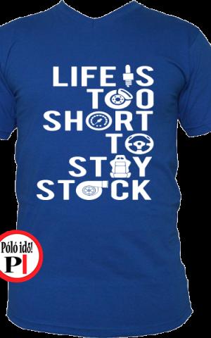 halálos iramban póló az élet rövid kék