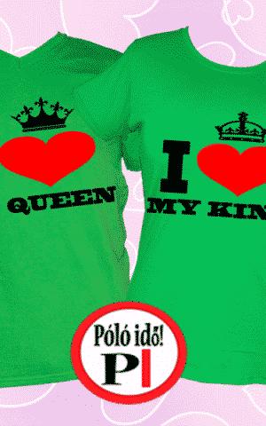 i love my páros pólók zöld