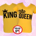 king queen páros pólók citrom
