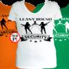 leánybúcsú security póló