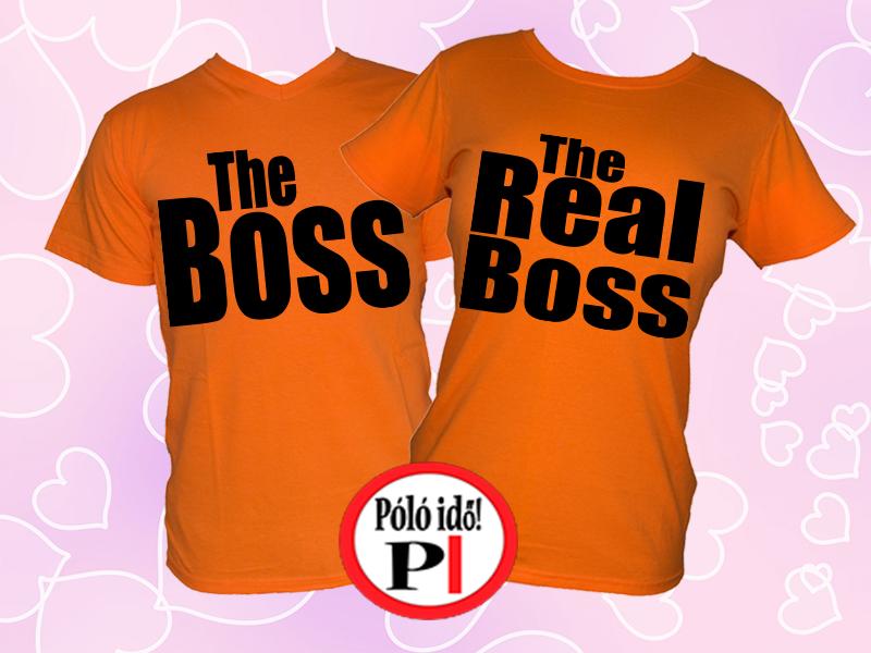 Boss - páros pólók - Póló Idő - Egyedi pólók webáruháza 1186d17bde