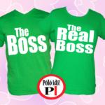 páros pólók főnök zöld