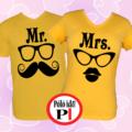 páros pólók mr and mrs citrom