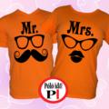 páros pólók mr and mrs narancs