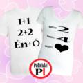 valentin napi ajándék póló fehér