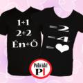 valentin napi ajándék póló fekete