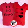 valentin napi ajándék póló piros