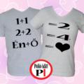 valentin napi ajándék póló szürke