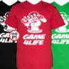 gamer pólók game for life
