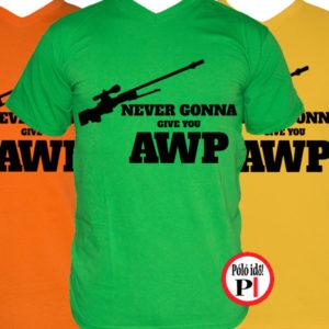 gamer pólók give you awp