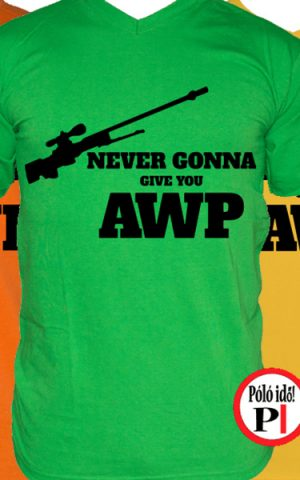 gamer pólók give you awp