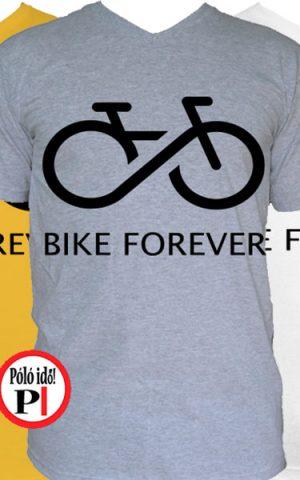 biciklis póló bike forever
