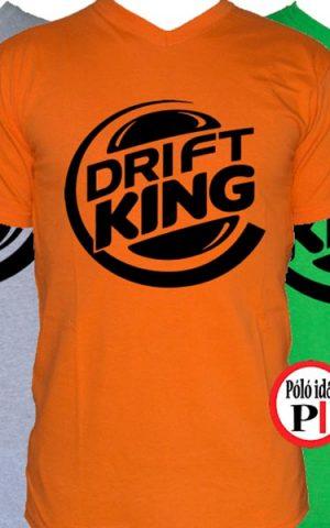 drift king póló autós