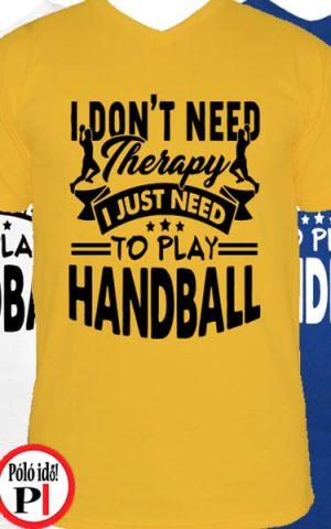 Terápia kézi póló