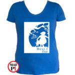 bff póló cuki 1 kék