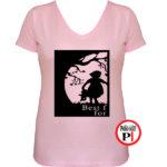 bff póló cuki 1 pink