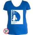 bff póló cuki 2 kék