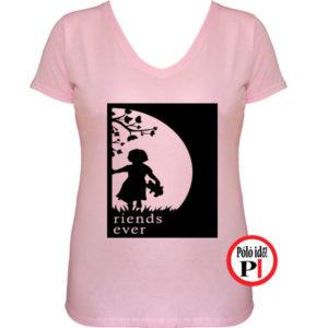 bff póló cuki 2 pink