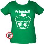 bff póló süti 2 zöld