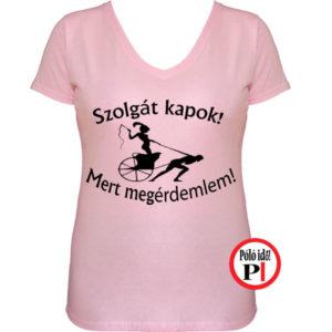 Rabszolga lánybúcsú póló - Póló Idő - Egyedi pólók webáruháza 5ed7c75bce