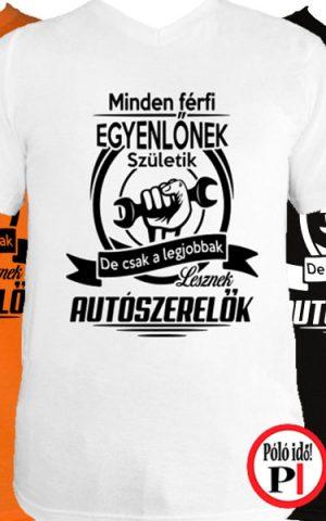 legjobbak autószerelő póló