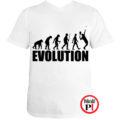 teniszpóló evolúció férfi fehér