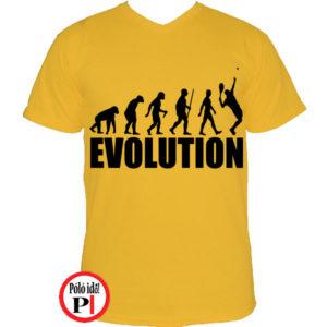 teniszpóló evolúció férfi citrom
