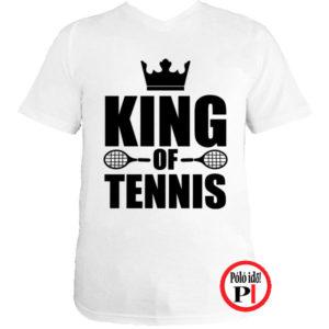 teniszpóló king fehér