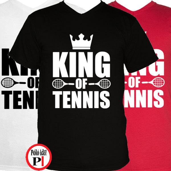 teniszpóló king