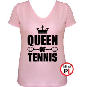 teniszpóló queen pink