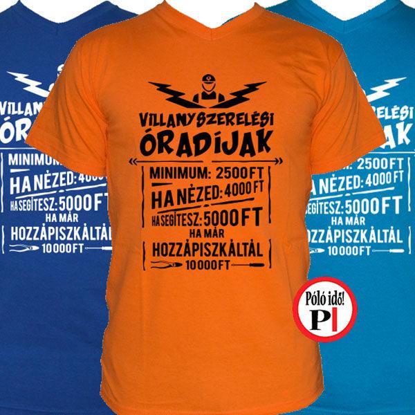 Vicces villanyszerelő póló - Póló Idő - Egyedi pólók webáruháza 722dff93c6