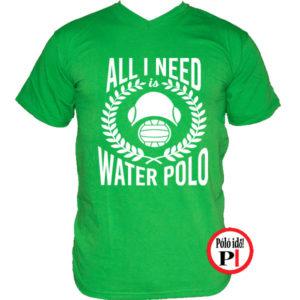 vizilabda póló i need zöld