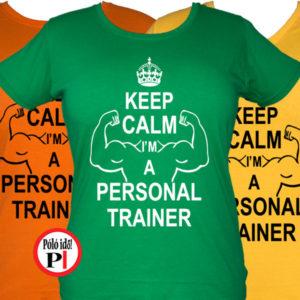 edző női póló personal training