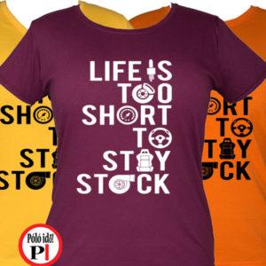 Az élet rövid női halálos iramban póló