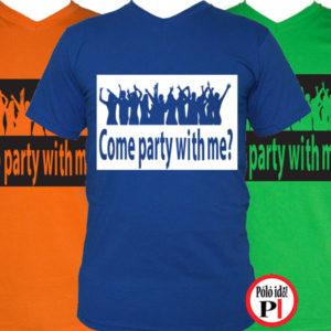party póló férfi