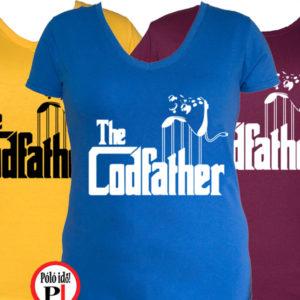 gamer pólók codfather női