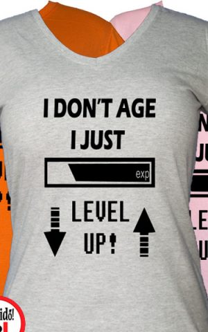 level up női gamer póló
