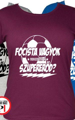 foci póló szupererő női