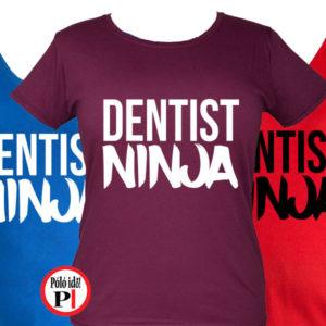 fogorvos póló ninja női