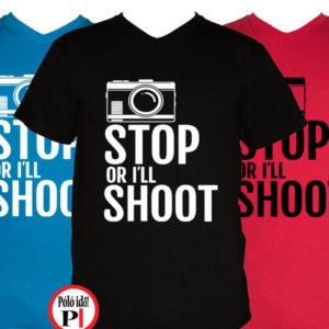 fotós póló állj vagy lövök