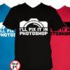 fotós póló photoshop