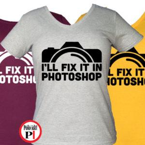 fotós póló photoshop női