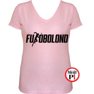 futó póló futóbolond női pink