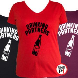 ivós póló partner női