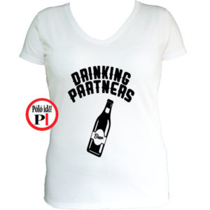 ivós póló partner női fehér