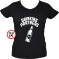 ivós póló partner női fekete